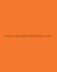 - Portakal Çift Yüz Boyalı Mdf 2.7 mm 70 *x 85 cm (6 Parça )